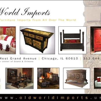 Old World Imports Closed Furniture, Old World Imports Furniture