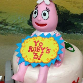 Incredible Foofa Tops Rubys Yo Gabba Gabba Birthday Cake Yelp Funny Birthday Cards Online Inifofree Goldxyz