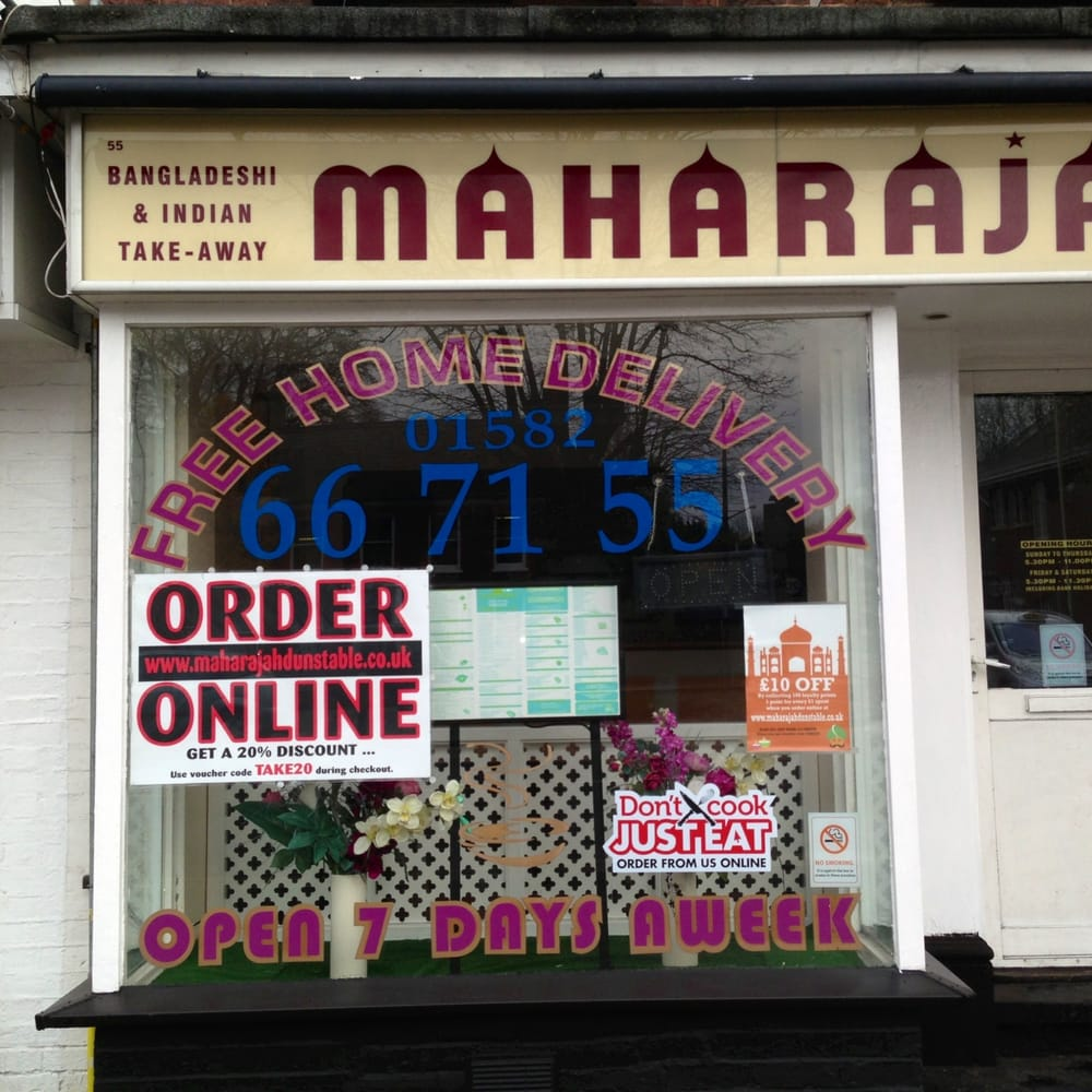 Maharajah Indian 55 High Street S Luton Bedford