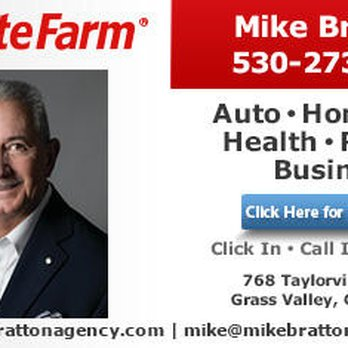 Mike Bratton State Farm Insurance Agent Insurance 768 Taylorville Road Grass Valley Ca Phone Number