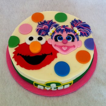 Sesame Street Cake With Elmo And Abby Cadabby Yelp