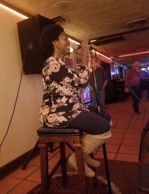 Photo of Queen's Gambit Restaurant & Banquets - Woodbridge, VA, United States. Getting my karaoke on...