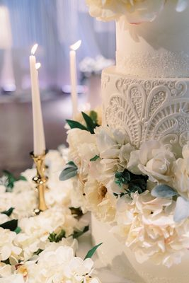 Photo of Shelby Lynns Cake Shoppe - Springdale, AR, US. Wedding cake details