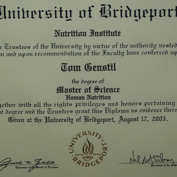 Masters Diploma in Nutrition - Yelp