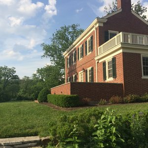 Photo of French Park - Cincinnati, OH, United States. The house at French Park! This is the view from the garden area.
