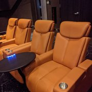 Photo of IPIC Theaters - Atlanta, GA, United States. Back row recliner seating, not pod style