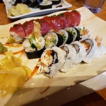 Origami sushi bar / Winter vacation in ontario   348x348