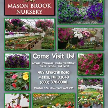 Mason Brook Nursery Nurseries