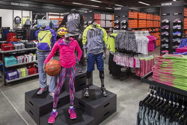 Nike Factory Store 1553 Retherford St