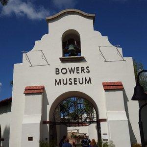 Photo of Bowers Museum - Santa Ana, CA, United States. A beautiful entrance