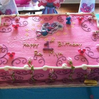 Abby Cadabby Double Layer Full Sheet 1st Bday Cake Yelp