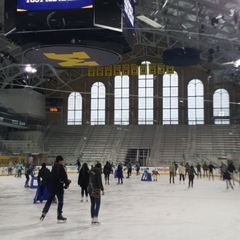 Photo of Yost Ice Arena - Ann Arbor, MI, United States. Public skating hour (really 90 minutes) - wow!
