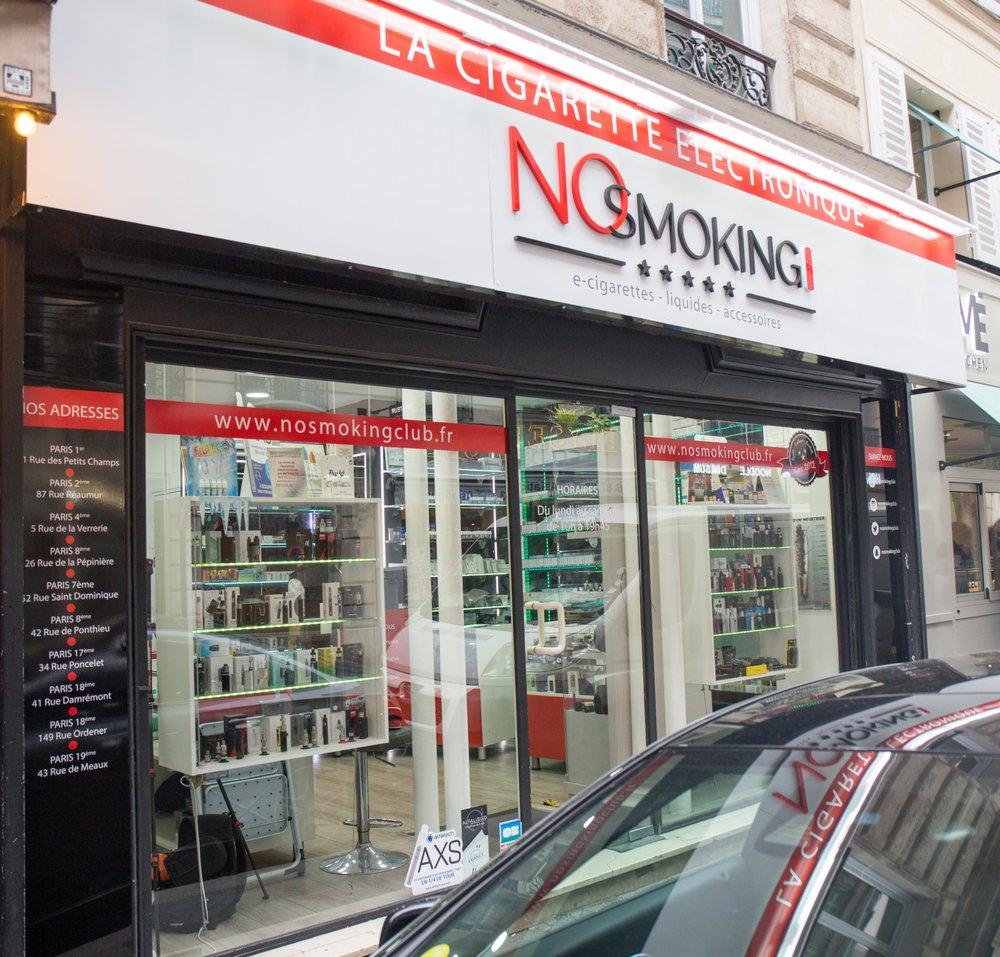 149 Rue Saint Honoré no smoking club - vape shops - 42 rue de ponthieu, 8ème