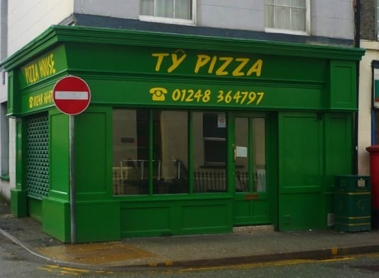 Pizza House Pizza 53 Holyhead Road Bangor Gwynedd
