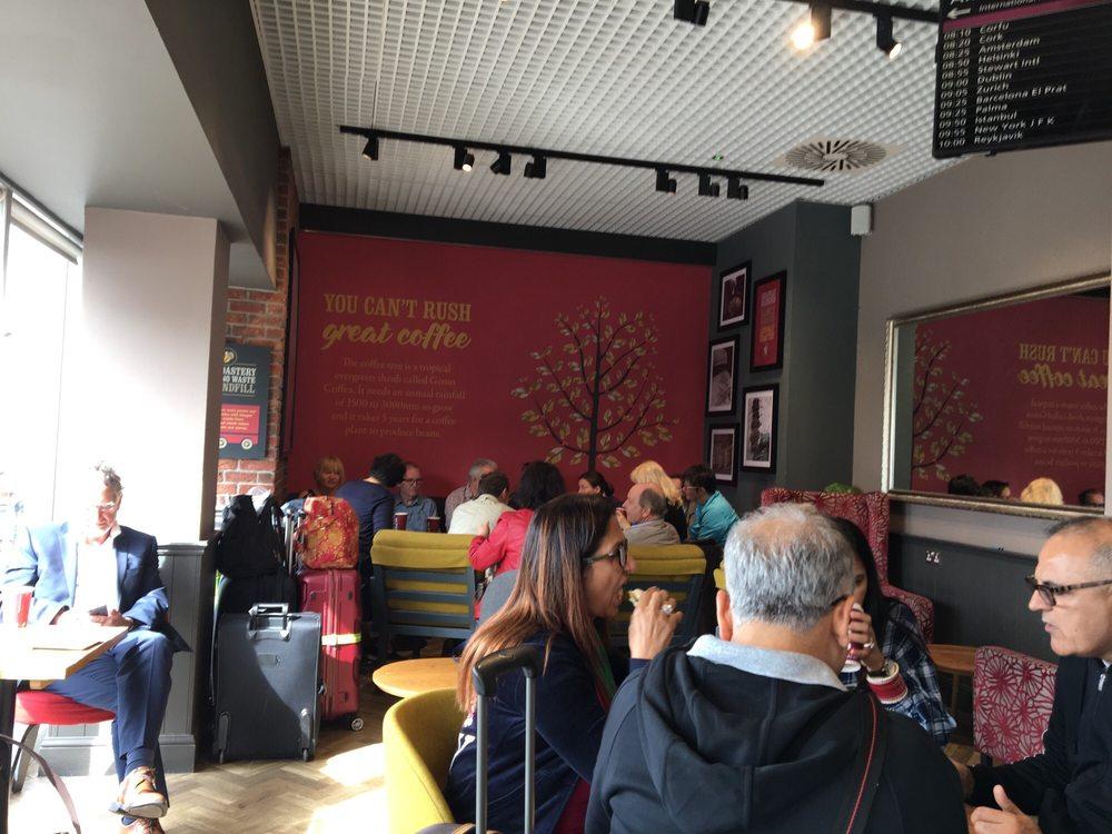 Costa Coffee Coffee Tea Shops Edinburgh Airport