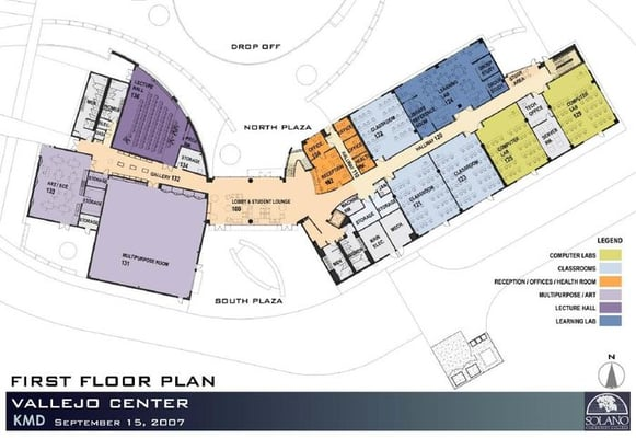 solano college campus map Solano Community College 545 Columbus Pkwy Vallejo Ca Colleges