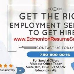 Edmonton Resume Services Employment Agencies 9038 51 Avenue Nw Edmonton Ab Phone Number Yelp