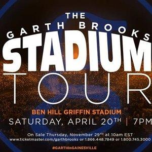 garth brooks concert gainesville fl