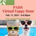 Palo Alto Humane Society (PAHS)?presents?VIRTUAL YAPPY HOUR
