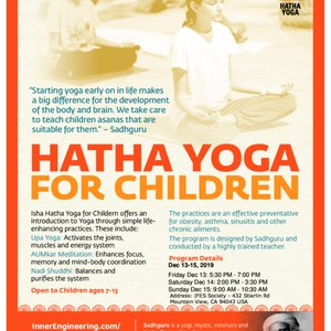Hatha For Children, Mountain View | Events - Yelp