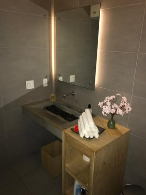 Spa Inspired Bathroom in Campbell