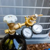 Nitrogen test for refrigerant lines is crucial for preventing Freon leaks. High-pressured air inside of the copper lines would find a leak.
