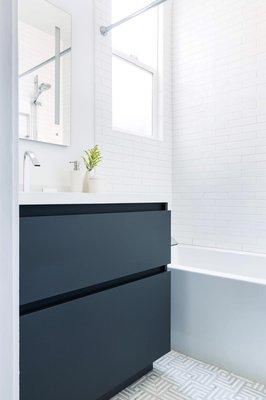 Modern Bath Remodel in Hayward